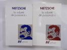 LA VOLONTE DE PUISSANCE. Tomes 1 & 2.. Nietzsche