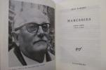 MARGERIES. Poèmes inédits 1910 - 1985.. Jean Tardieu