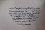 LOT contenant : LA COMPLAINTE DE MORTIMER (N° sur Vergé + Envoi) - LES LIGNES DE LA MAIN (E.O) - LONGTEMPS J'AI COURTISE LA NUIT + CAMPAGNES SECRETES ...