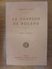 La Chanson de Roland. Texte annoté.. AUBE Edmond