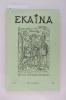 Revue d'Etudes Basques EKAINA N°53 . Collectif
