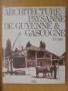 ARCHITECTURE PAYSANNE DE GUYENNE & GASCOGNE. Dr. A. Cayla