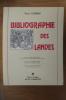 BIBLIOGRAPHIE DES LANDES. David Chabas