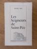 LES SEIGNEURS DE SAINT-PEE. Recueil d'études et de documents.. Henry Dop