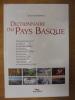 Dictionnaire du Pays Basque. Alain Gardinier