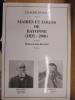 MAIRES ET EDILES DE BAYONNE (1831 - 2001). DUHAU CLAUDE