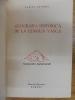 Geografia Historica de la Lengua Vasca: Tomo I (Siglos XVI al XIX). VARIOS AUTORES