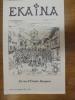 Ekaina. Revue d'Études Basques. N°118. 2° Trimestre 2011.. Collectif.