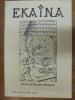 Ekaina. Revue d'Études Basques. N°95. 3° Trimestre 2005.. Collectif.