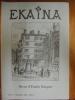 Ekaina. Revue d'Études Basques. N°85. 1° Trimestre 2003.. Collectif.