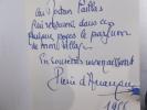LE VIEILLARD ET LA ROSE (avec un envoi de l'Auteur). Pierre d'Arcangues