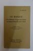 Le basque et la littérature d'expression basque en Labourd, Basse-Navarre et Soule. Pierre Lafitte