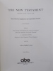 THE NEW TESTAMENT. Greek and English. Second Edition..