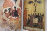 L'ICONOGRAPHIE DE LA SAINTE TRINITE des catacombes à Andreï Roublev.. Gabriel Bunge