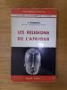LES RELIGIONS DE L'AFRIQUE. E. Dammann