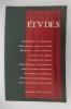 ETUDES. Septembre 1993.