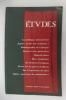 ETUDES. Octobre 1993.