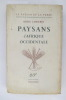PAYSANS D'AFRIQUE OCCIDENTALE. Henri Labouret