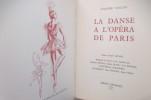 LA DANSE A L'OPERA DE PARIS. Léandre Vaillat