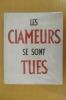 LES CLAMEURS SE SONT TUES. Jean Denys