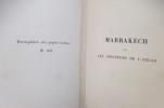 MARRAKECH ou LES SEIGNEURS DE L'ATLAS.. Jérome et Jean Tharaud