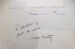 TOUT L'INCONNU DE LA CASBAH D'ALGER. (Avec un envoi de l'Auteure et un envoi de l'Illustrateur) . Lucienne Favre & Charles Brouty (illustrations)