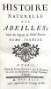 Histoire naturelle des ABEILLES.. BAZIN (G.-A.);