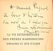 La Vie extraordinaire des frères Barberousse, Corsaires et Rois d'Alger.. ACHARD (Paul);