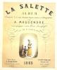 La SALETTE. Album composé de 8 vues dessinées d'après nature et lithographiées par A. Maugendre. Accompagné d'un Texte Descriptif Par Mr. L'ABBE ***.. ...