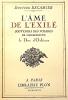 L'AME de L'EXILE. Souvenirs des Voyages de Monsieur Le Duc d'Orléans.. RECAMIER (Docteur);