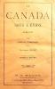 Le CANADA sous l'Union 1841-1867. . TURCOTTE (Louis-P.);
