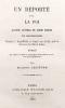 Un déporté pour la FOI. Quatre Lettres du sieur Serres de Montpellier. Publié par Matthieu Lelièvre.. SERRES (Sieur);