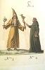 Mascarades Monastiques et Religieuses de toutes les Nations du Globe, représentées par des figures coloriées dans la plus exacte vérité, avec l'abrégé ...
