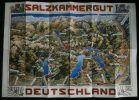 SALZKAMMERGUT DEUTSCHLAND .. HEISS-DIONYSEN J. ( carte dessinée par )