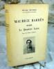 Avant le quartier latin (avec des lettres inédites).. MONDOR Henri, BARRES Maurice