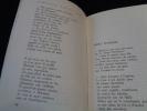 Anthologie poétique de Federico Garcia Lorca. Textes choisis et traduits avec une introduction par Félix Gattegno. Dessins de F. Garcia Lorca.. LORCA ...
