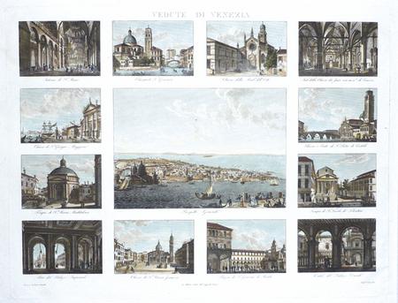 [VENISE] Vedute di Venezia.. LOSE (Caroline);