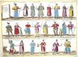 [COSTUMES] Diversi Dithmarsorum et vicinarum gentium habitus.. BRAUN (Georg);HOGENBERG (Frans);