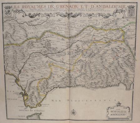 [ESPAGNE] Les royaumes de Grenade et d'Andalousie.. FER (Nicolas de);