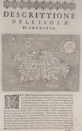 [SARDAIGNE] Descrittione dell'isola di Sardigna.. PORCACCHI (Tommaso);