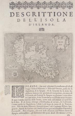 [IRLANDE] Descrittione dell'isola d'Irlanda.. PORCACCHI (Tommaso);