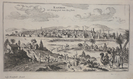 [IRAN] Kaschan int koningryck van Persien.. PEETERS (Jan);