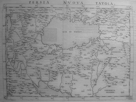 [PERSE] Persia nuova tavola.. PTOLEMEE (Claude) & RUSCELLI (Girolamo).
