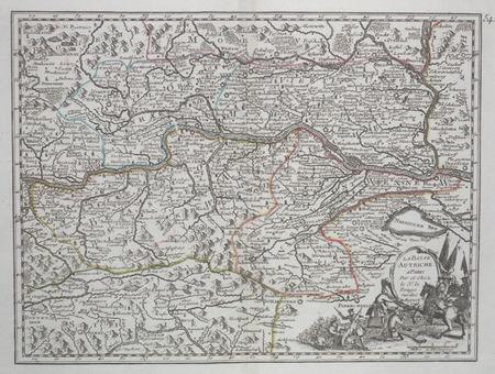 La Basse Autriche.. LE ROUGE (Georges-Louis);
