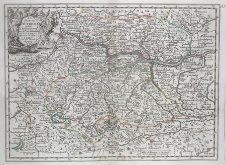 La Haute Autriche.. LE ROUGE (Georges-Louis);