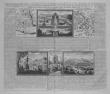 [MEXIQUE] Description, situation & vue de la ville de Mexique des deux lacs sur lesquels elle est bâtie, du grand temple de cette ville, des ...