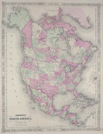 North America.. JOHNSON (Alvin Jewett);