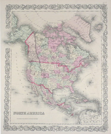 North America.. COLTON (Joseph Hutchins);