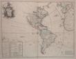 L'Amérique suivant le R.P. Charlevoix Jte Mr. de La Condamine et plusieurs autres nouvelles observations.. LE ROUGE (Georges-Louis).