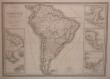 Carte de l'Amérique méridionale.. RAYNAUD;